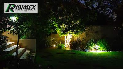 Éclairage LED extérieur écologique TIMEO RONDO Ribimex