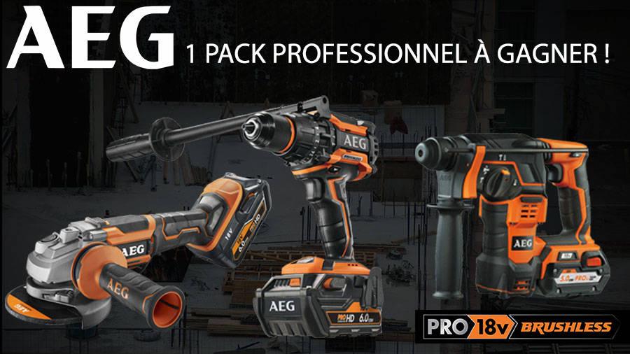 Jeu concours AEG Power Tools