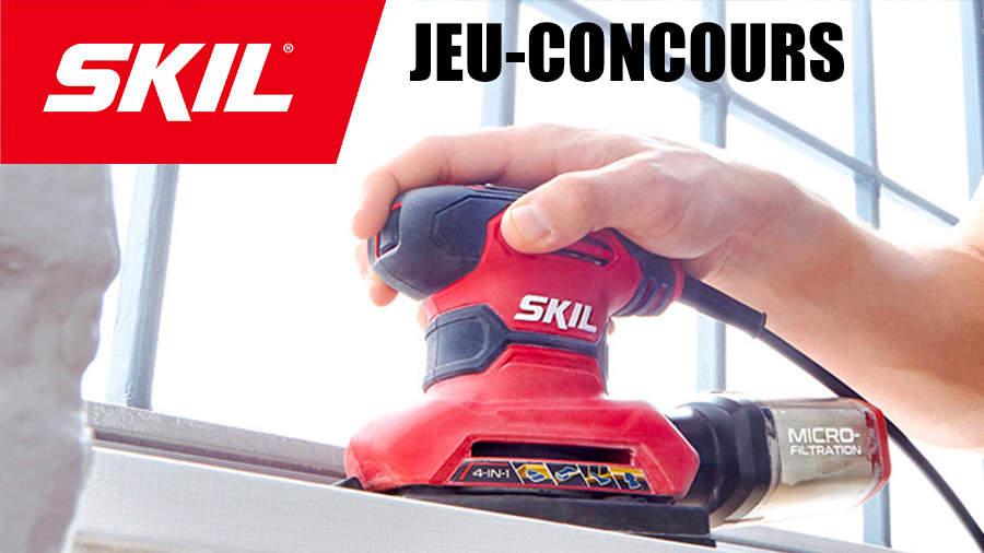 Jeu-concours outillage électroportatif SKIL