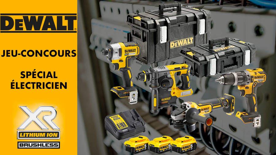 Pack d'outils électroportatifs spécial électricien DEWALT
