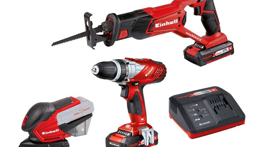 einhell lance un kit 3 oep power x-change pour bricoleurs exigeants