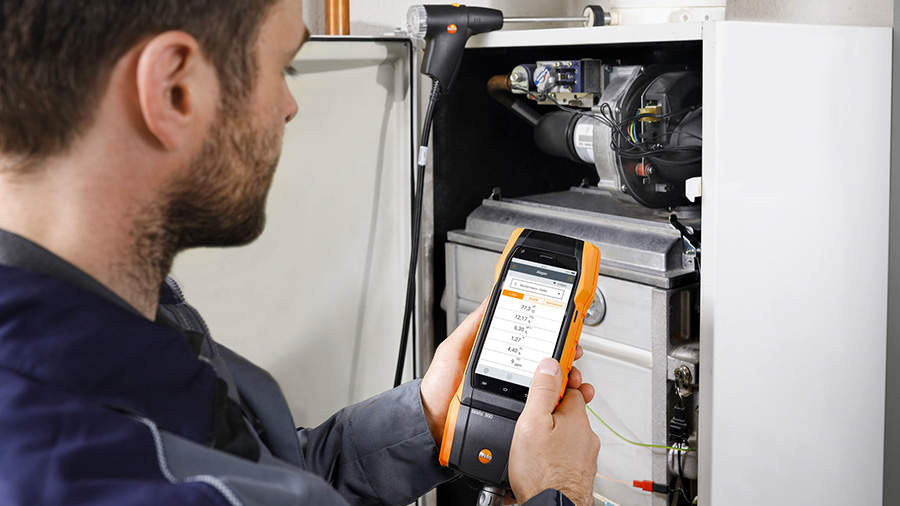 i-analyseurs de combustion 300 et 300 LL Testo