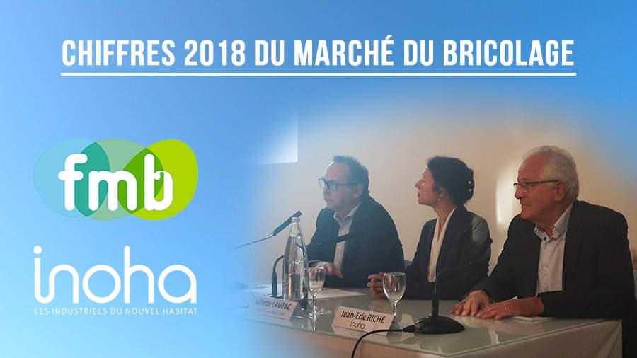 La FMB et Inoha dévoilent les chiffres du marché du bricolage pour 2018