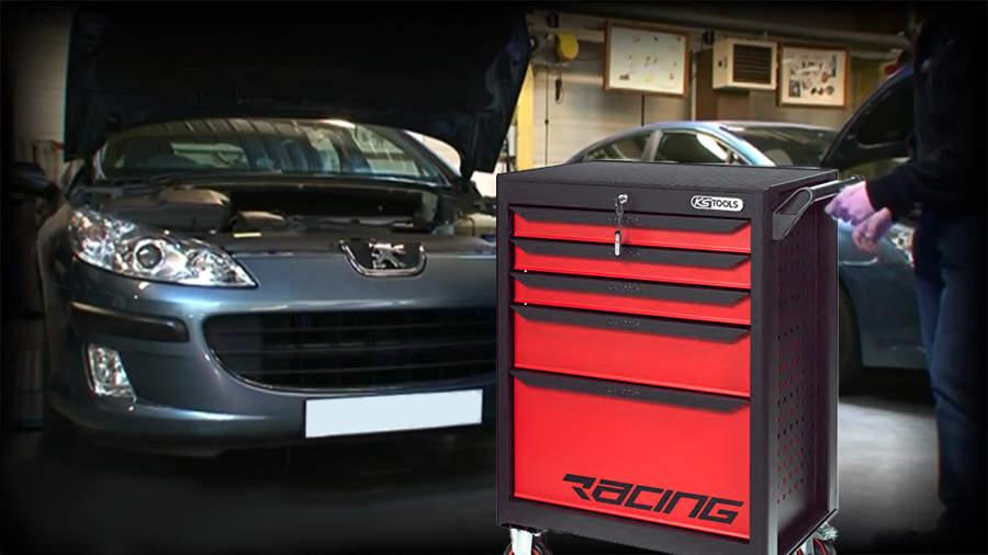KS Tools RACING 850.5184 : une servante polyvalente contenant 184 outils