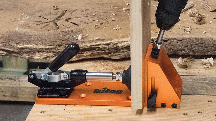 Gabarits de serrage Joints d/'angle et joints en T à 90° menuiserie pour Kreg