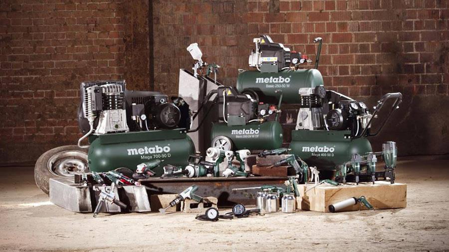 Nouvelle gamme d'outils pneumatique Metabo