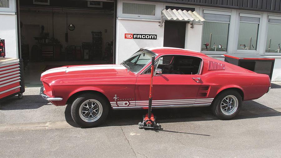 Projet Mustang Fastback 1967 - Restauration Mustang Fastback 1967 par FACOM