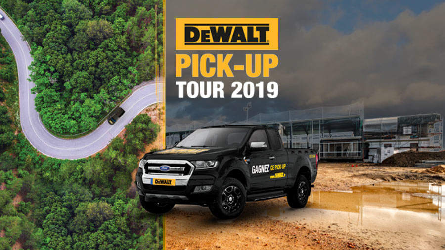 Stand DEWALT pick-up tour 2019