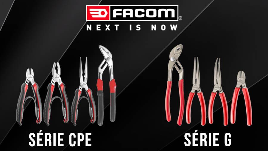 Nouvelles pinces FACOM série CPE et série G