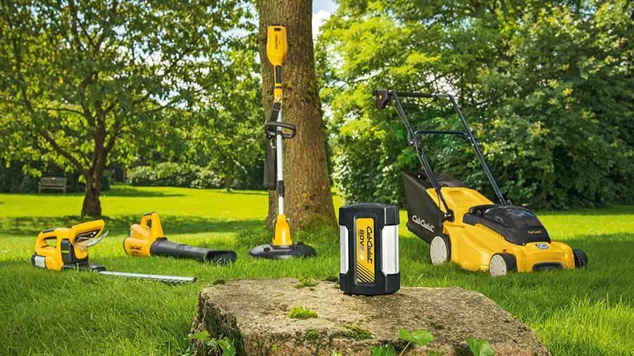 Quatre nouveaux outils sans fil Cub Cadet pour l\'entretien du jardin ...