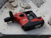 Perforateur burineur Hilti sans fil TE 30-A36 © Benjamin LEHARIVEL - Zone Outillage