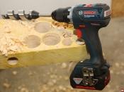 Perceuse-visseuse GSR 18 V-EC Bosch Professional © Benjamin Leharivel - Zone Outillage