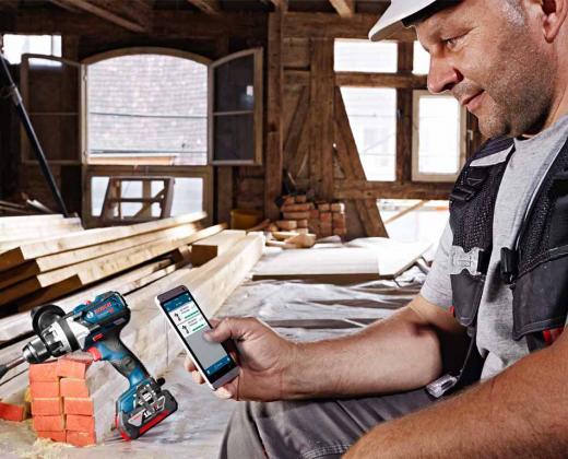 Outils connectés Bosch Professional