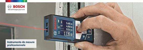Instruments de mesure Bosch Professionnel pas chers