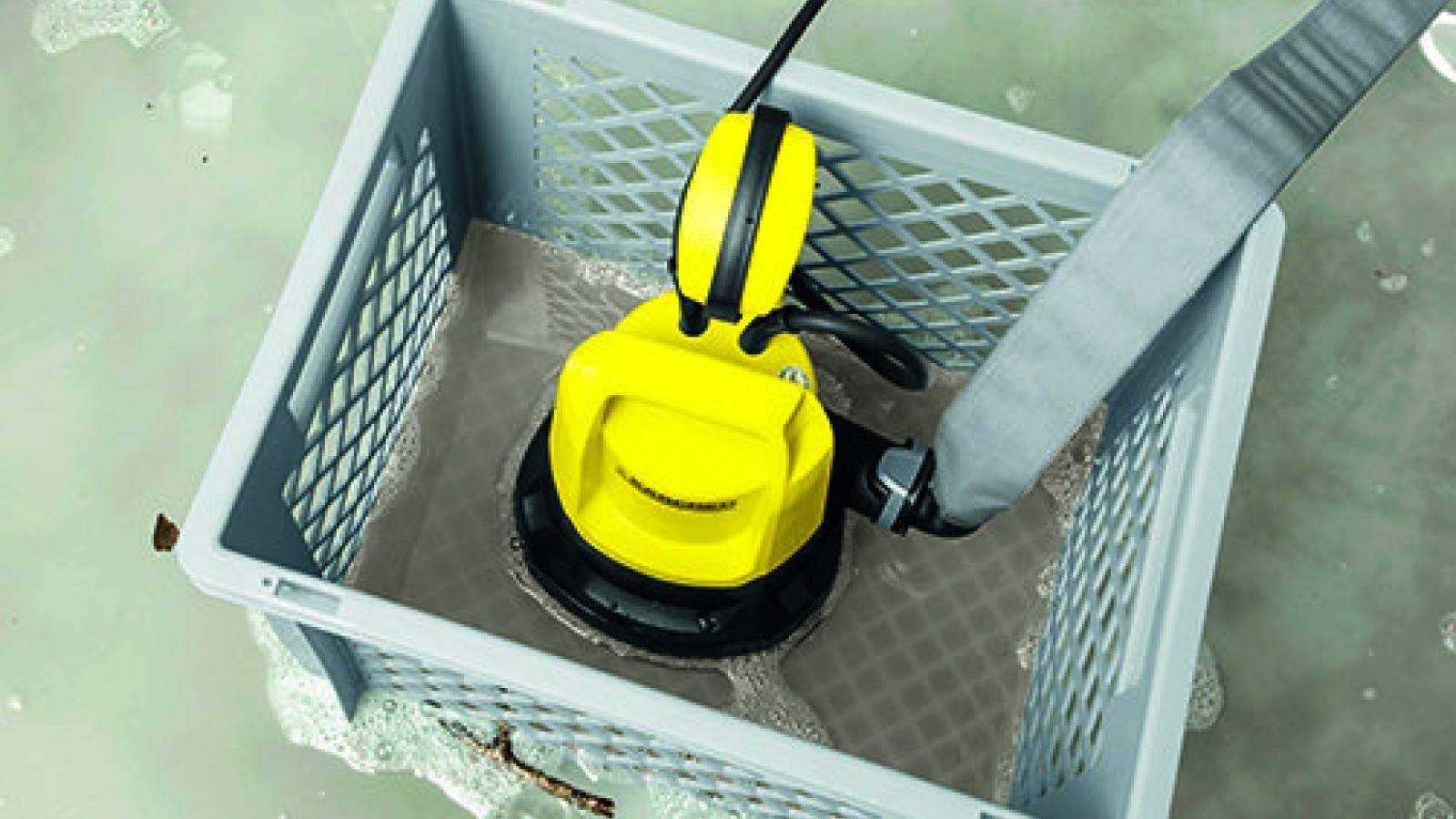 Caisse de rangement polyvalente Kärcher qui peut être utilisé en pré-filtre