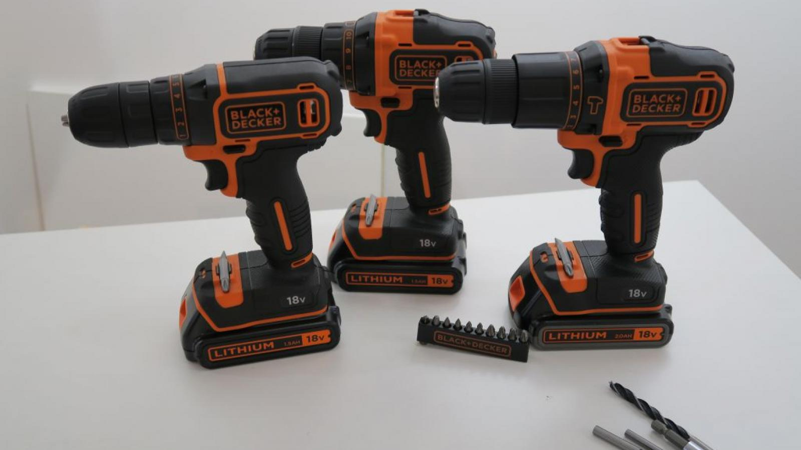Perceuse black et decker 18v 2ah - Perceuse black et decker 18v ...