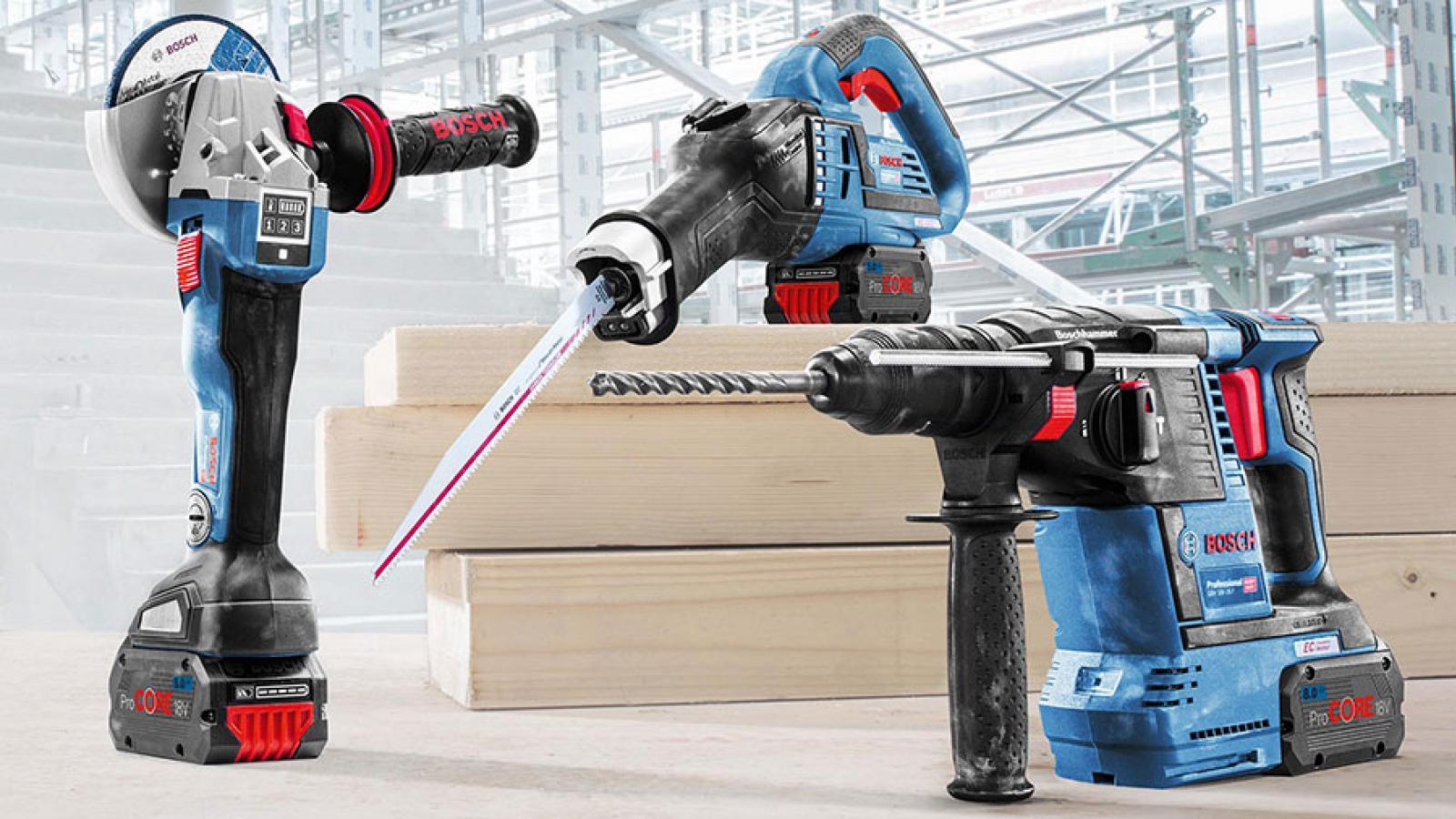 Nouvelle gamme de batterie Procore 18V 4Ah 8Ah 12Ah Bosch professional