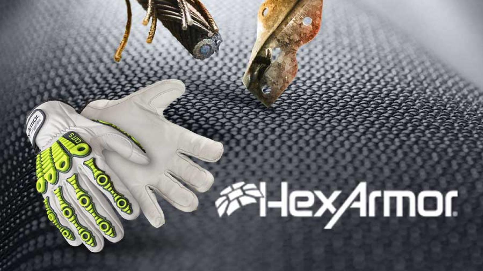 Gants de protection HexArmor