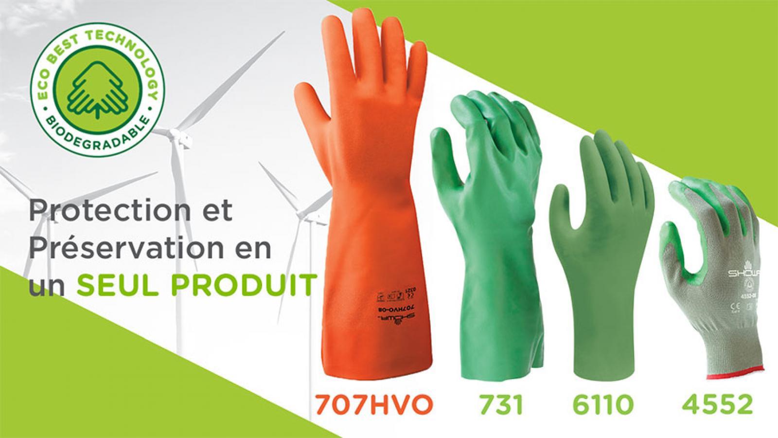 Nouvelle gamme de gants SHOWA haute visibilité