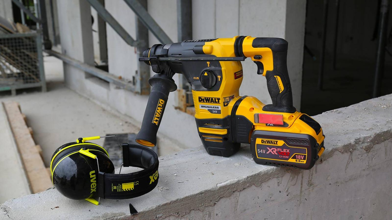 Marteau perforateur-burineur DEWALT DCH333 54V XR FLEXVOLT