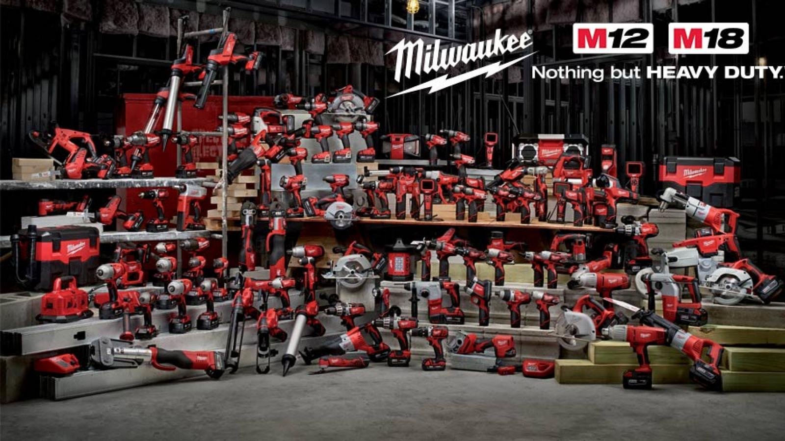promotion pack nrj milwaukee batterie M12 offerte