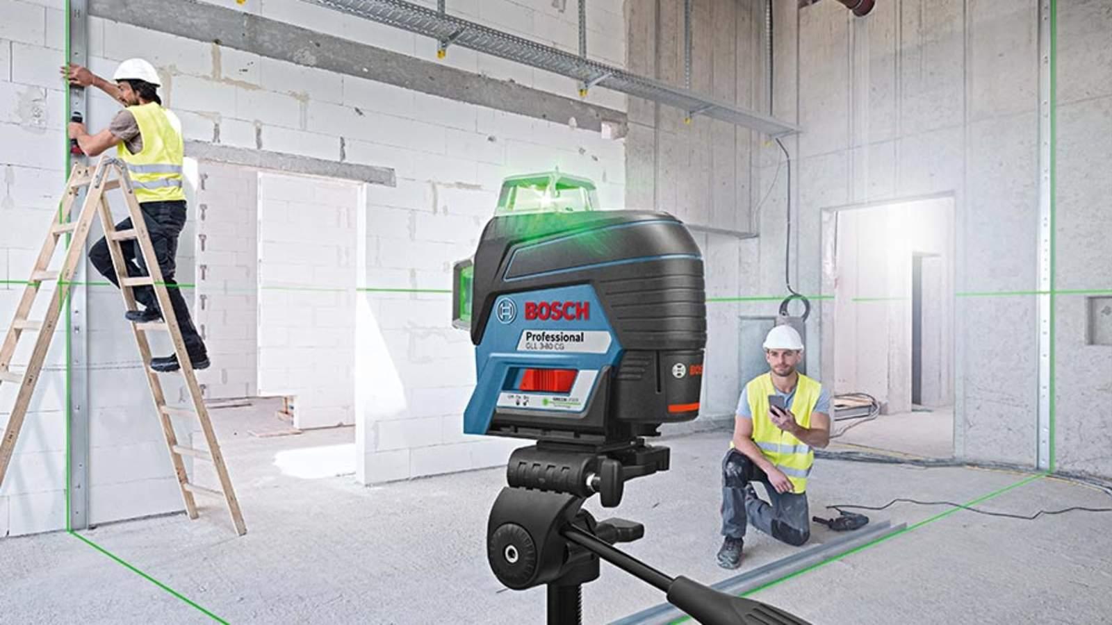Test et avis des lasers lignes Bosch GLL 3-80 C et GLL 3-80 CG