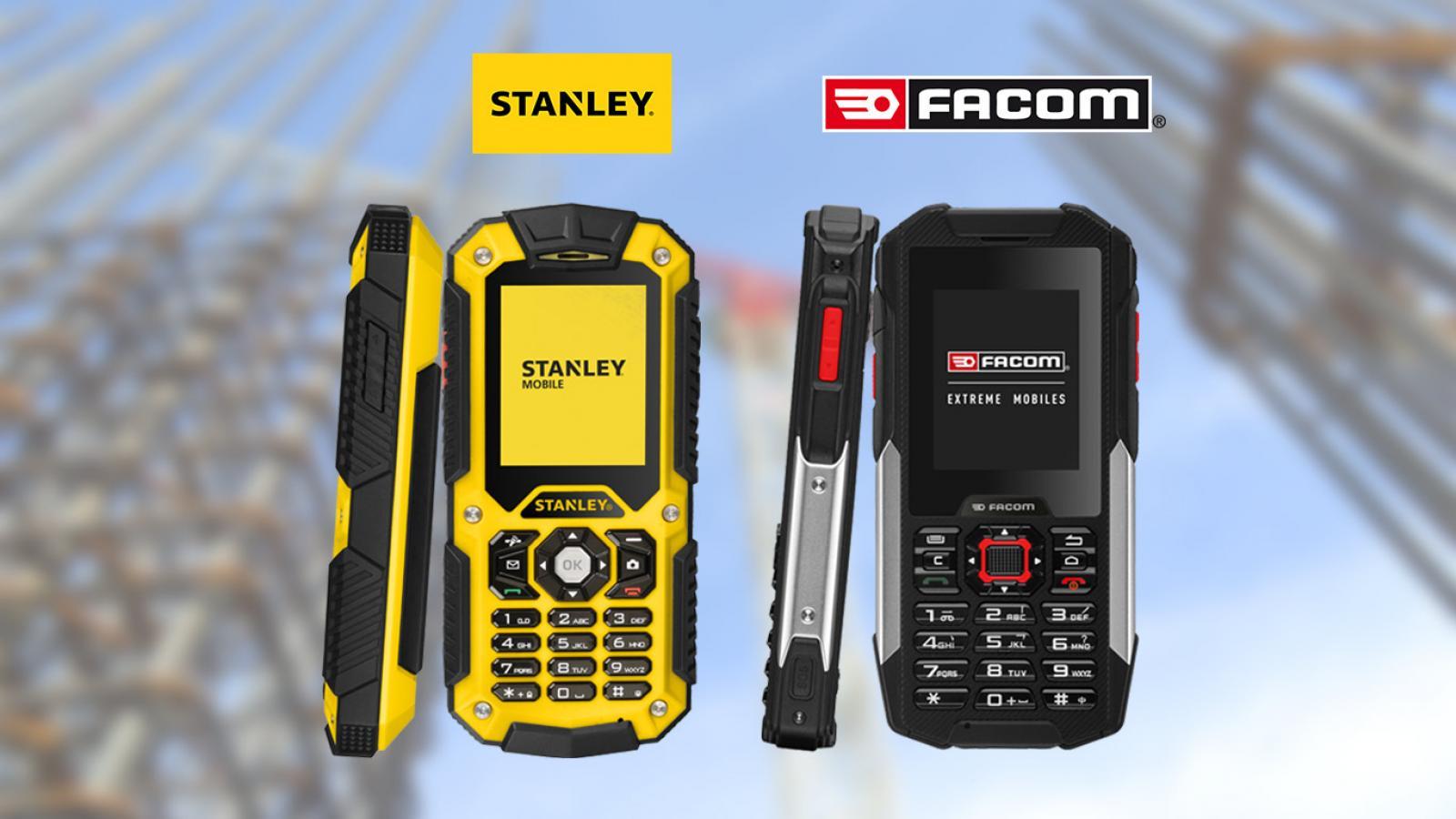Téléphone Facom - Téléphone Stanley pour travailleur isolé
