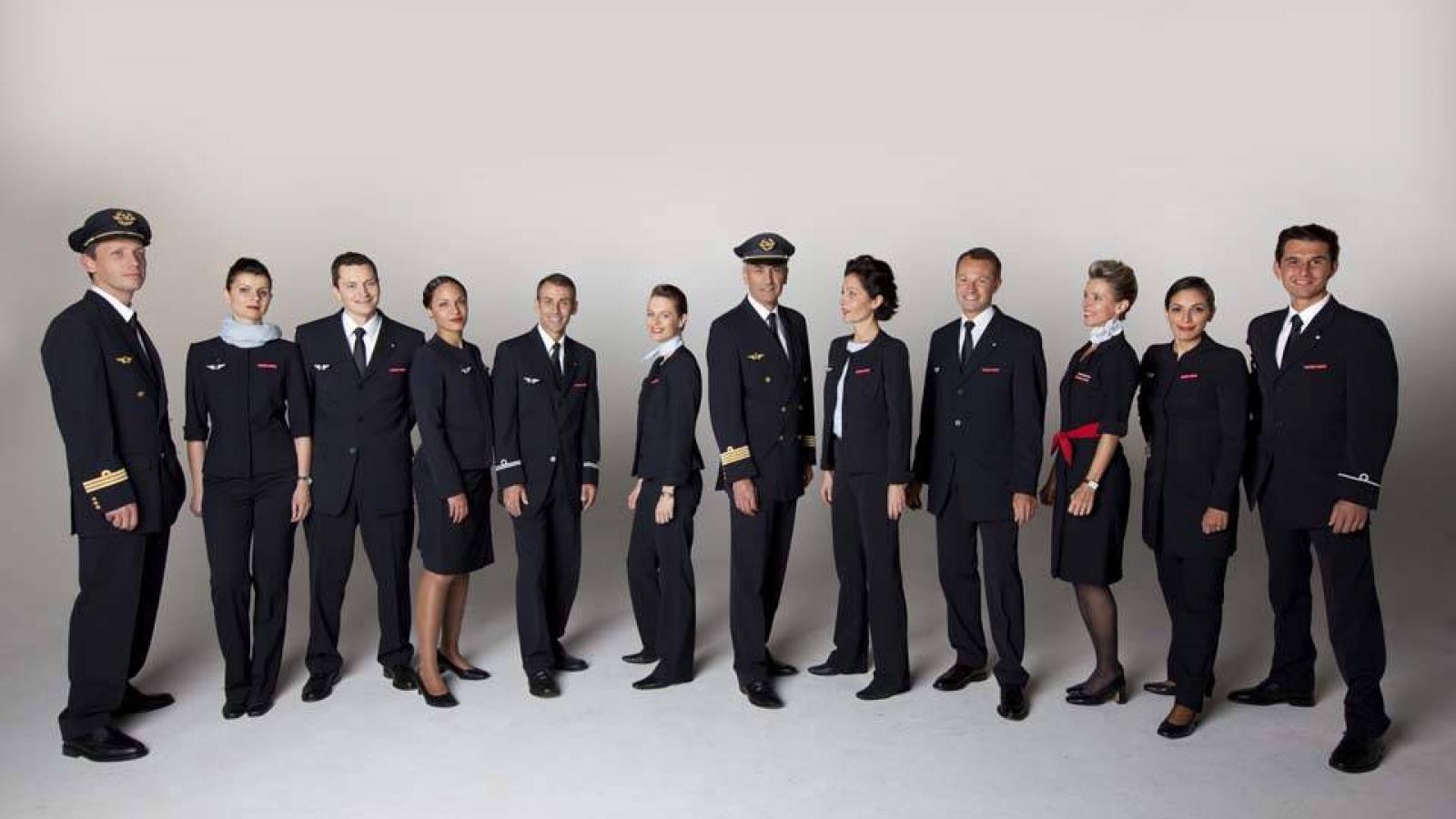 Air France uniforme CEPOVETT