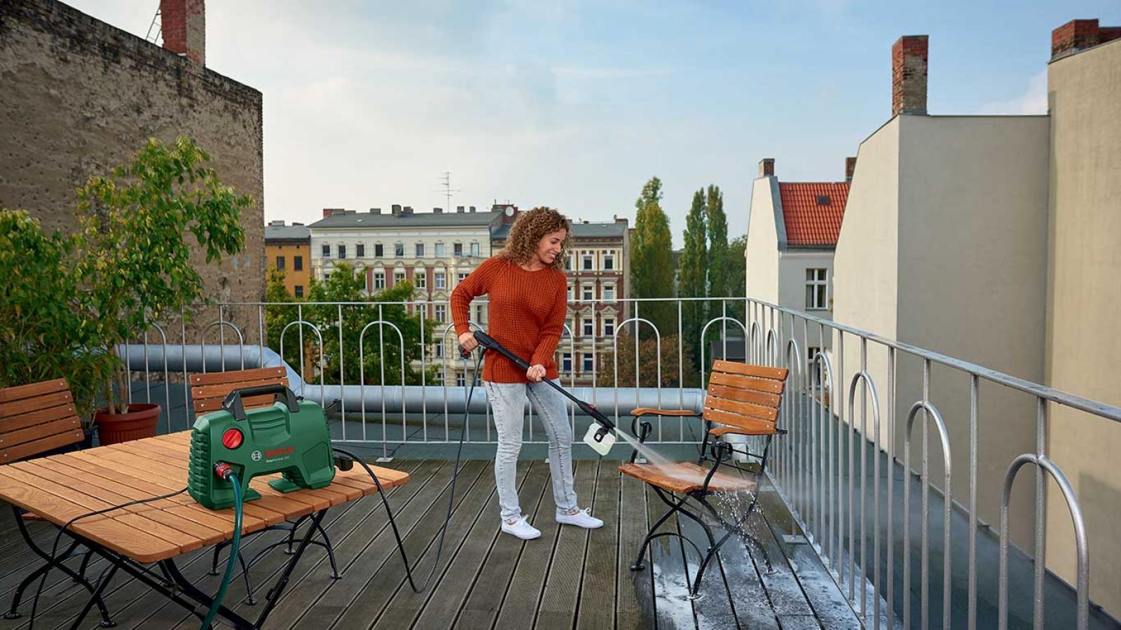 Nettoyeurs haute-pression Bosch : « Easy, Universal et Advanced »