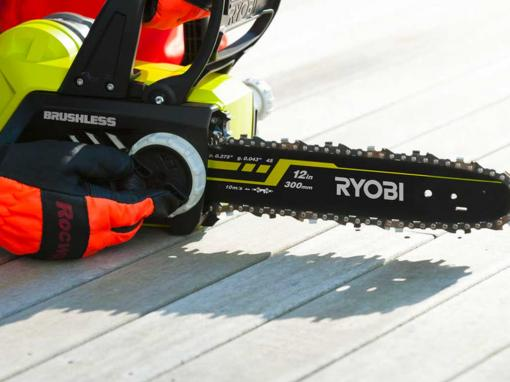 Tronçonneuse sur batterie RYOBI ONE+ OCS1830