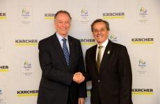 Kärcher Brésil, partenaire officiel des Jeux Olympiques de Rio 2016