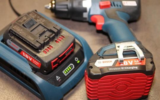Chargeur à induction Bosch Professional