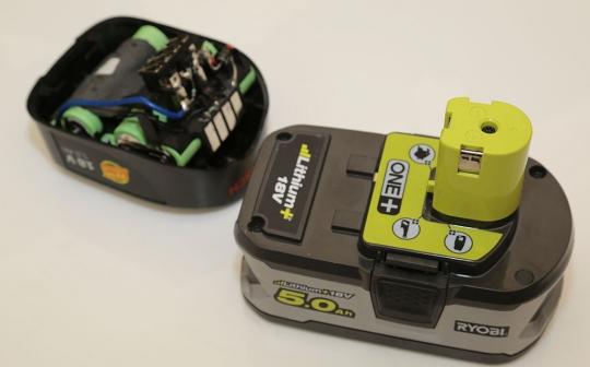batterie Bosch 18V Power4all vs batterie Ryobi ONE+ 18 V