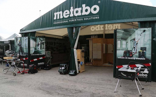 Metabo Tour à Paris le 23 juin 2015