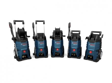 Gamme nettoyeurs haute pression Bosch Professional