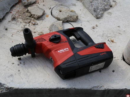 Perforateur burineur Hilti sans fil TE 30-A36 © Benjamin LEHARIVEL - Zone Outillage