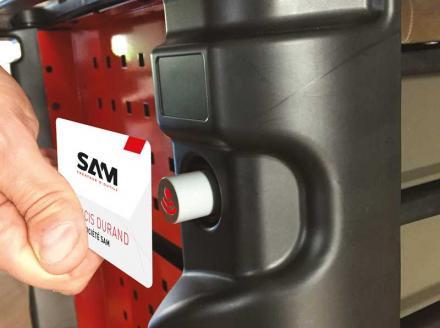 Servante à badge SAM Outillage série 41