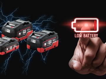 Batteries LiHD Metabo