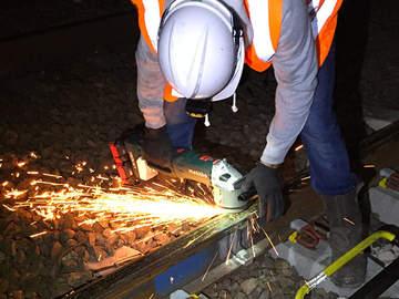 Metabo équipe les opérateurs SNCF pour l'entretien des voies ferrées