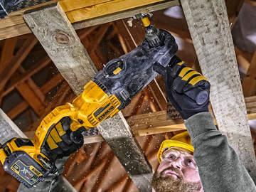 Nouvelle perceuse de charpente sur batterie XR FLEXVOLT54V DCD470N DEWALT