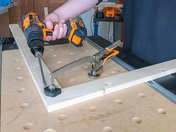 Des assemblages simplifiés avec les outils de travail du bois TRITON