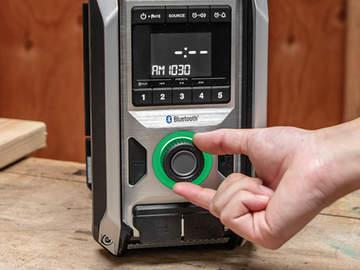 XRM09B : la nouvelle radio sans-fil bluetooth Makita