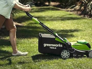 tondeuse sans fil brushless 40V Greenworks