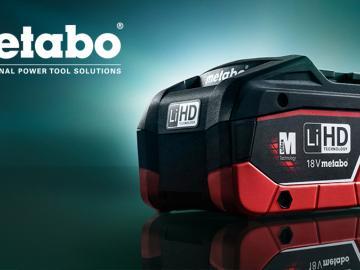 avis et prix nouvelle batterie Metabo LIHD 8 Ah