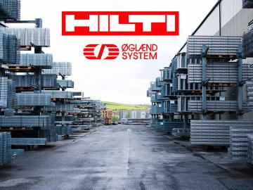 HILTI rachète le groupe OGLAEND SYSTEM