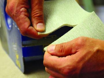 Rouleau distributeur d'abrasifs SOFT ROLL