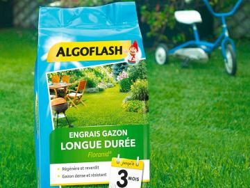 Engrais gazon Floranid 3 mois Algoflash