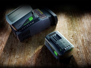 Chargeur SCA 8 et batterie BP1852 Festool AIRSTREAM