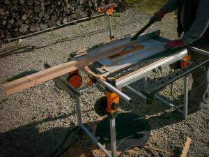 Utilisation de la table multifonctions Triton Workcentre TWX7 © Zone Outillage
