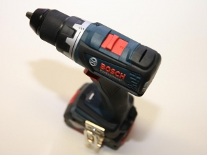 Perceuse-visseuse GSR 18 V-EC Bosch Professional © Benjamin Leharivel - Zone Outillage